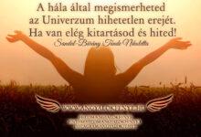 Photo of Angyali üzenet: A hála által