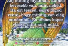 Photo of Angyali üzenet: Adj mindig