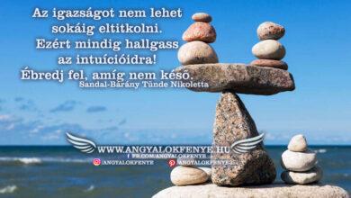 Photo of Angyali üzenet: Az igazságot nem lehet sokáig eltitkolni